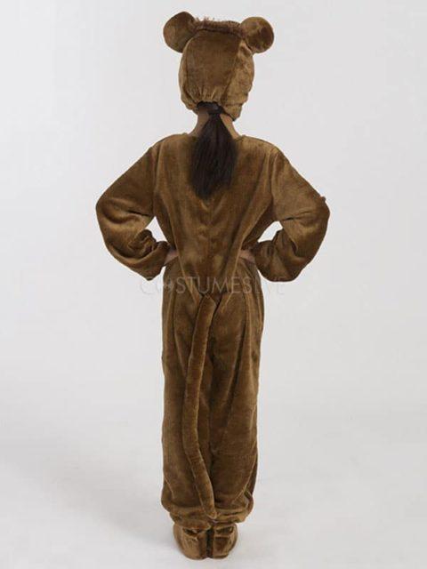 brown monkey costume for children singapore