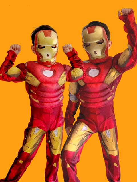 Iron man Costume for kids singapore