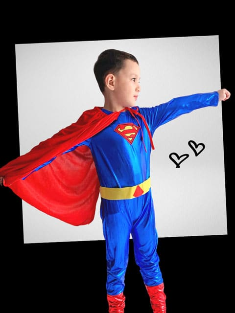 Superman Costume for kids singapore