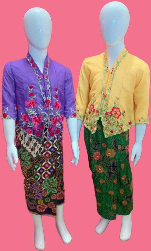 Traditional Malay Baju Kebaya