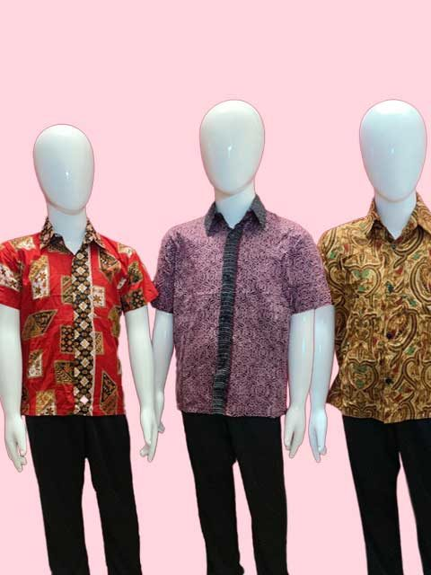 Malay Baju batik traditional shirt singapore for kids