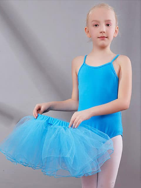 Performance Tulle Ruching Natural Skirts