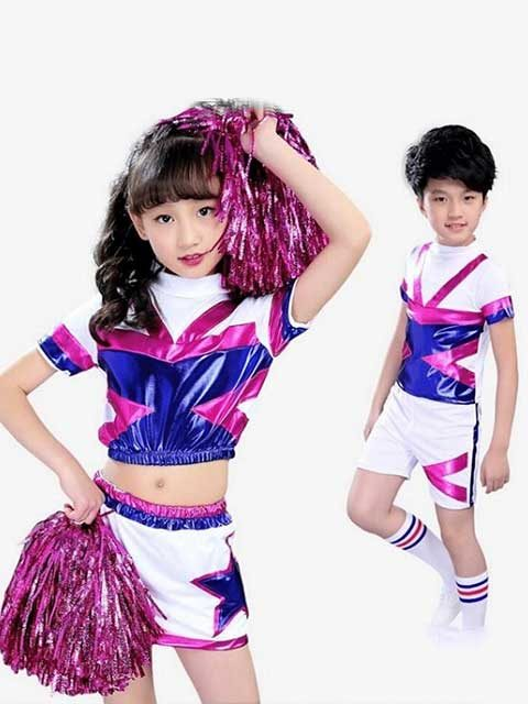 Children Kids Boys Girls Cheerleader Outfit Uniform singapore