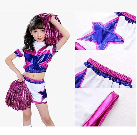 Children Kids Boys Girls Cheerleader Outfit Uniform singapore
