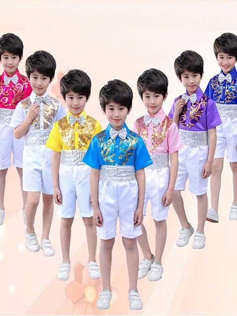 boys performance clothing costumee