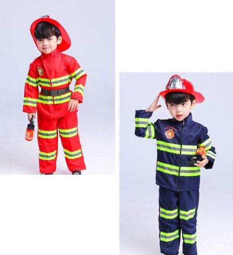 Kids Firefighter Costume singapore