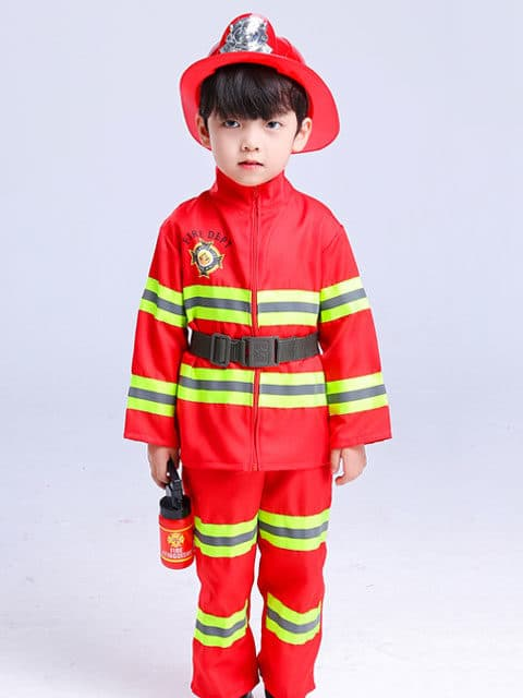 Kids Firefighter Costume singapore