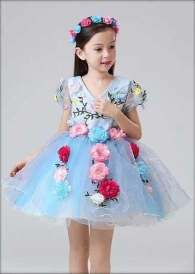 flower dress for dance performance