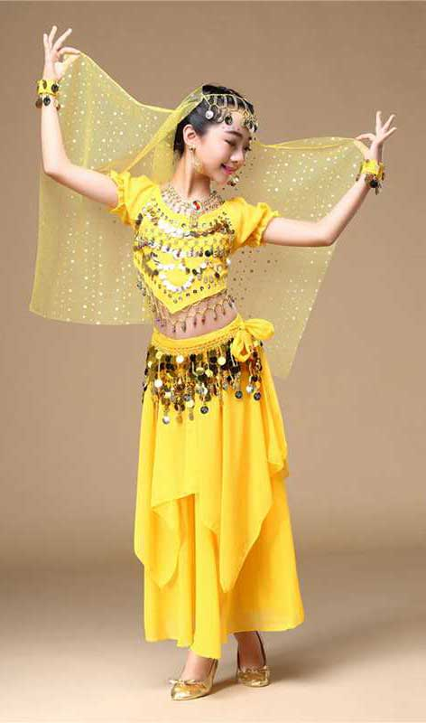Indian traditional dance costume Kids singapore