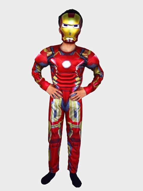 Super Hero Iron Man Costume for Kids singapore