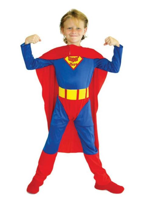 Super Hero Superman Costume for kids Singapore