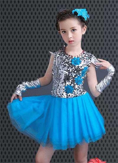 Girls Jazz Dance Dresses For Kids Children Singapore