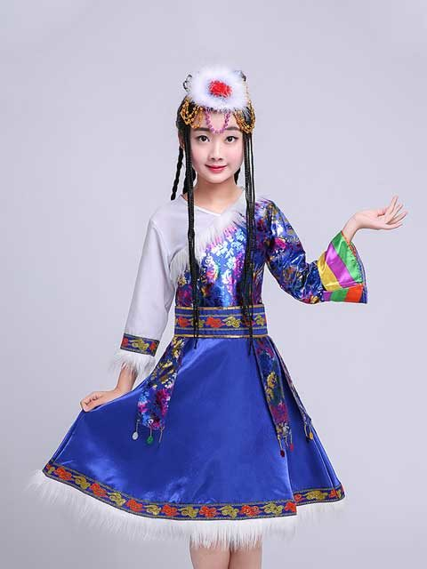 Mongolian Girl Dance Costume Singapore