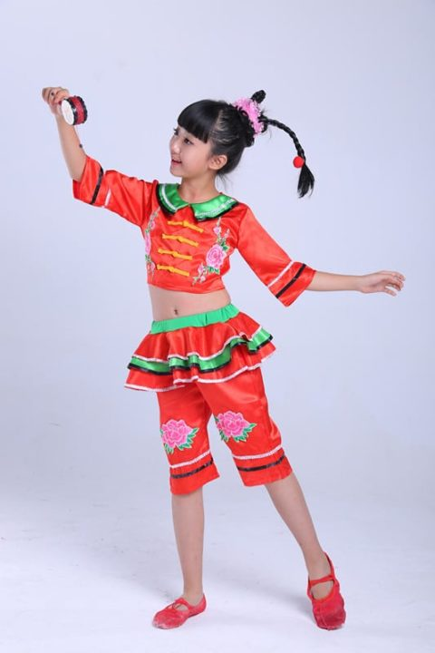 Chinese National Dance Costumes singapore performance