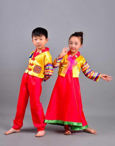 korean national costume traditional kids performance singapore