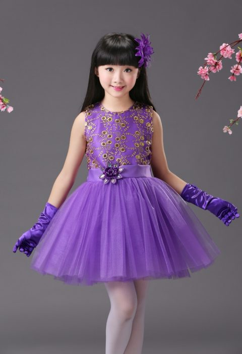 Children child princess dress tutu kids singapore