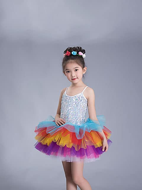 rainbow tutu girl dress ballet singapore