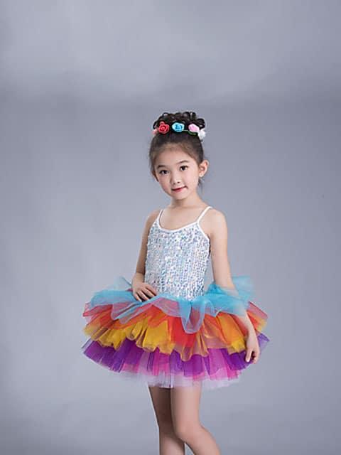 rainbow tutu girl dress ballet singapore