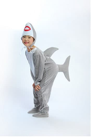 buy kid costumes shark singapore