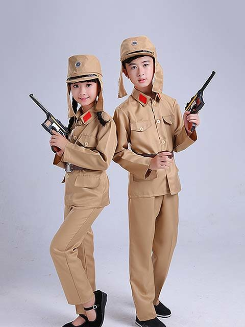 kids Japanese Soldier costume Singapore Bicentennial Collection