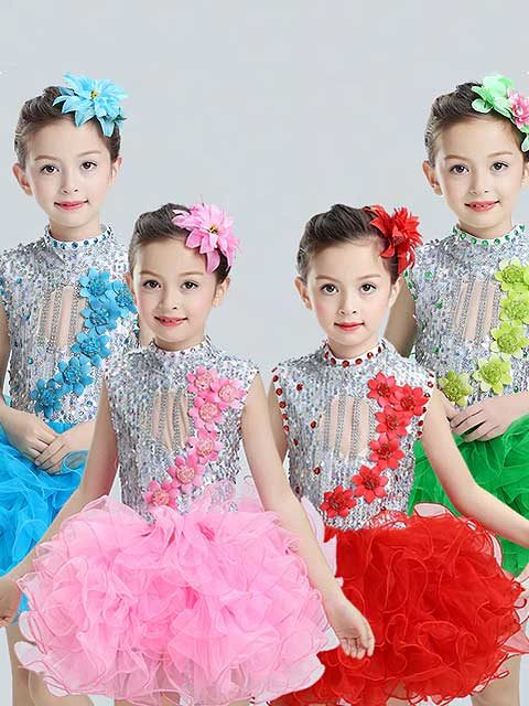 Modern Tutu Girl Dress for kids singapore