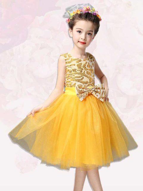 Yellow Performance Costume