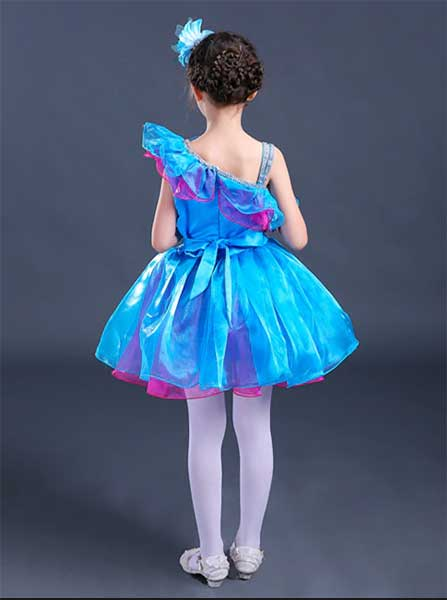 Turquoise Performance Costume for kids singapore