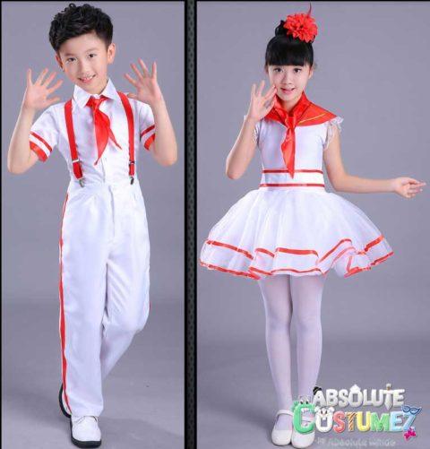 Kids Jazz Retro Dance Costume singapore