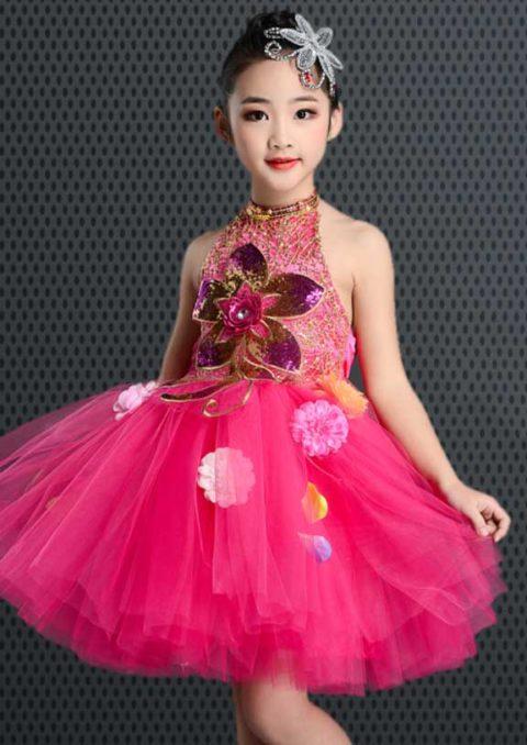 Flower Skirt Dance Wear Costume singapore