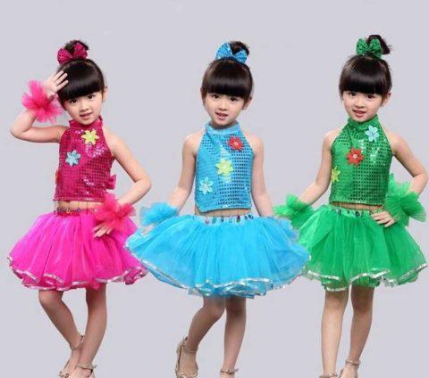 Girl Jazz Tutu Flower costume singapore
