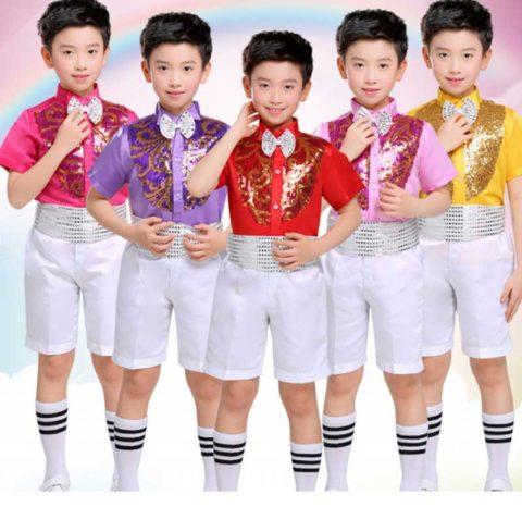 Kids jazz dance costumes for boy singapore