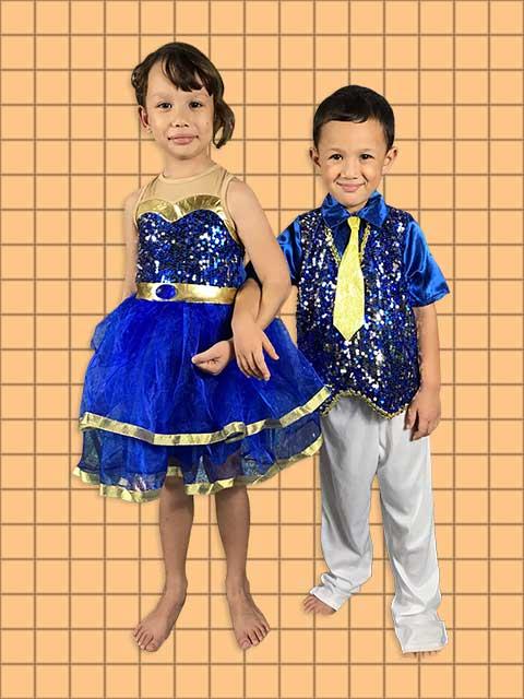 Sapphire Marvel kids dances to the tunes of jazz