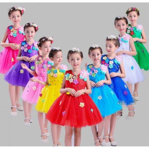 Girl modern princess dresses for dance