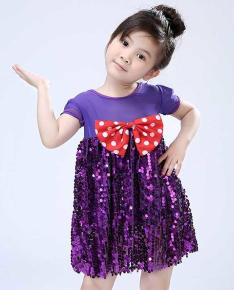 Street Dance Sequins Costume Singapore
