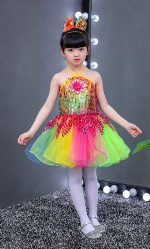 Jazz Dance Colorful Wear Singapore