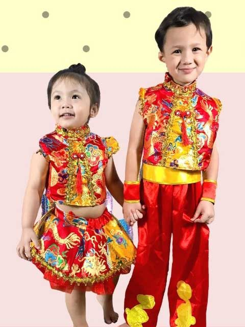 Chinese Traditional Kids Dress