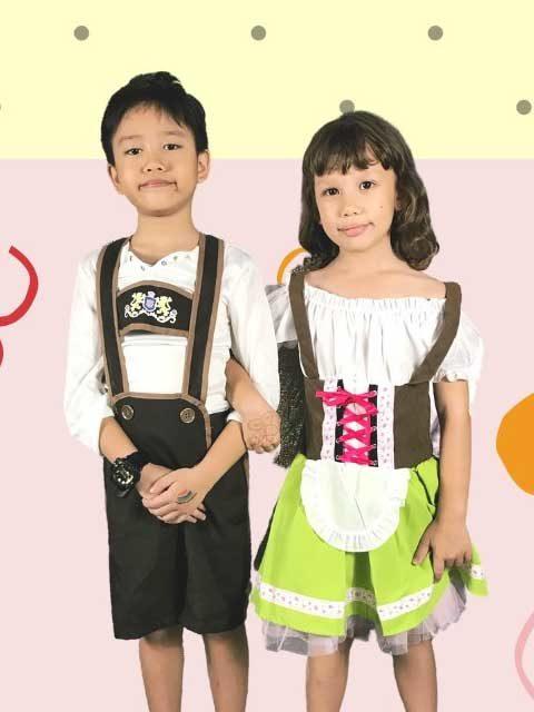 German Traditional Kids Dress