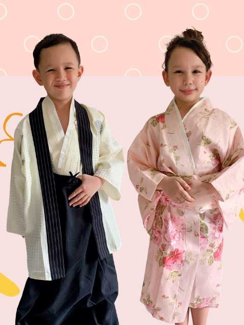Japanese Traditional Kids Dress