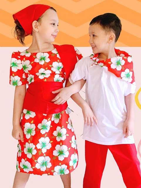 Philippines Traditional Kids Dress