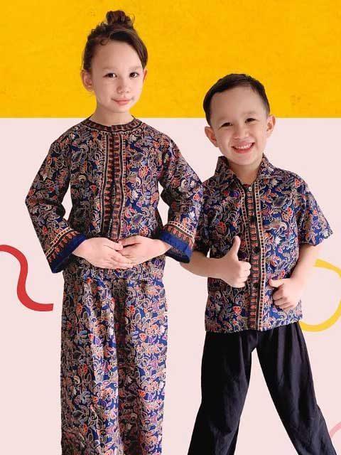 Singapore Traditional Kids Dress