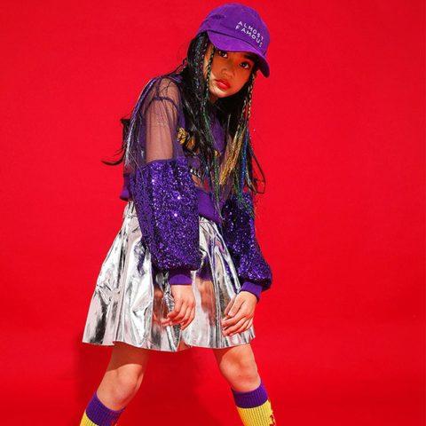 girl hip hop dance costume singapore
