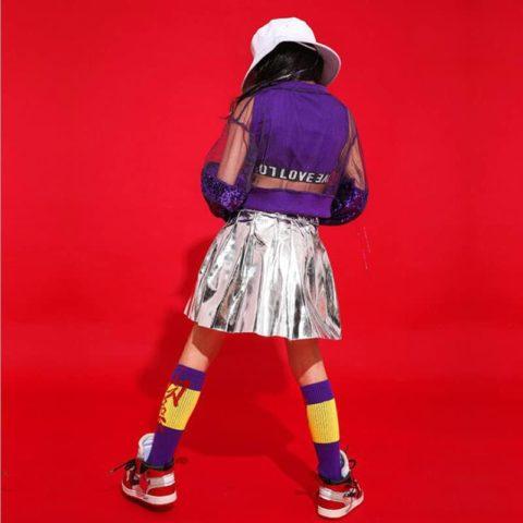 girl hip hop dance costume
