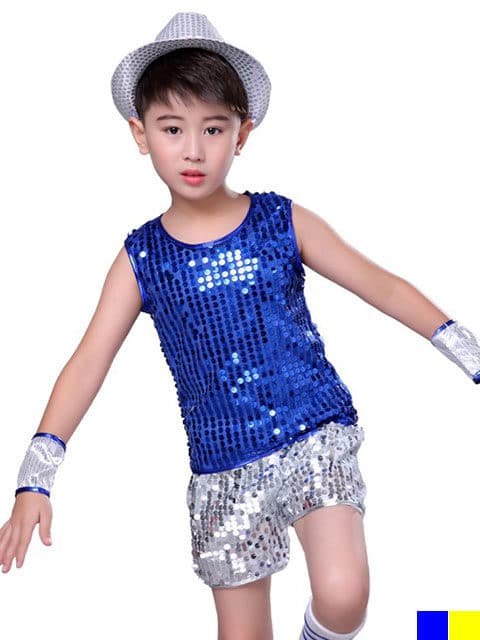Modern Sequins Jazz Dance