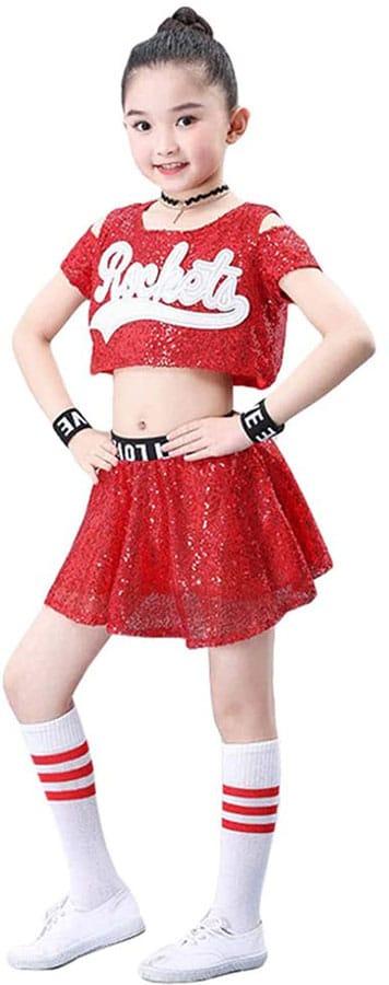 Kids Glitter Jazz Outfit