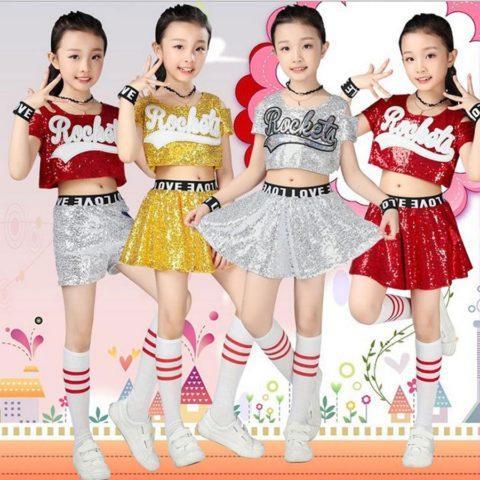 Kids Glitter Jazz Outfit singapore