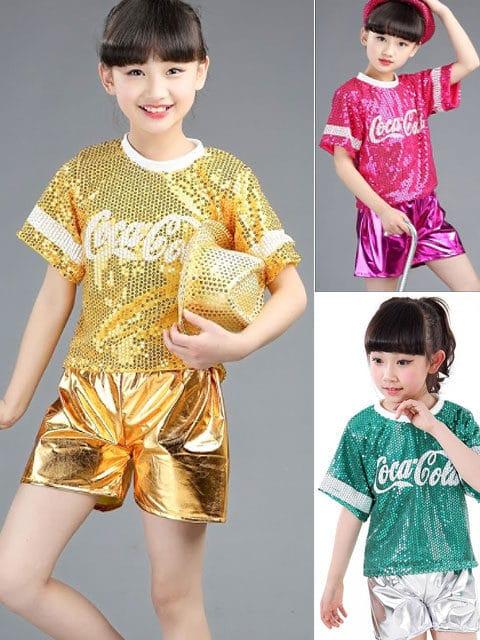 Sparkly Jazz Dance Costume singapore