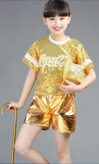 Sparkly Jazz Dance Costume