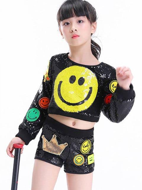 Emoji Jazz Dance Wear /Jazz 09