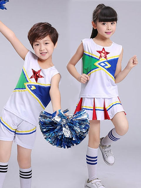 Red Star Cheerleading Outfit