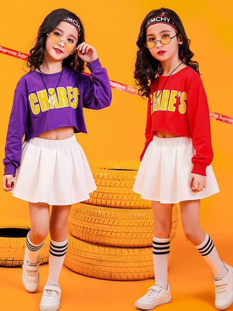 Short Top Hip Hop Dance Costumes